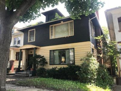 Scranton Multi Family Home For Sale: 632 N Irving Ave