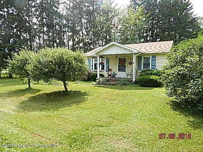 Susquehanna County Single Family Home For Sale: 214 Emerson Road