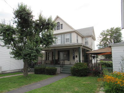 Luzerne County Multi Family Home For Sale: 747 Main St