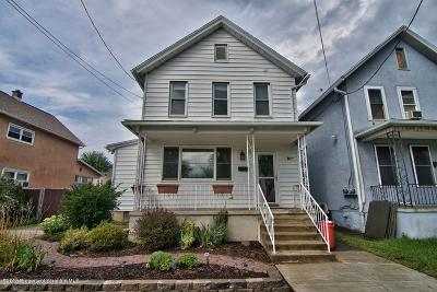 Lackawanna County Single Family Home For Sale: 407 Mill St