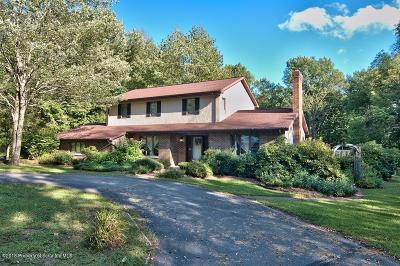 Lackawanna County Single Family Home For Sale: 1310 Fairview Rd