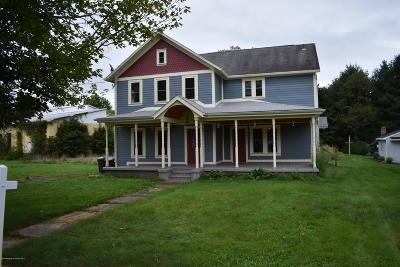 Susquehanna County Single Family Home For Sale: 86 Lackawanna Ave