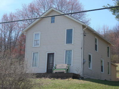 Tunkhannock Single Family Home For Sale: 501 Stony Mt Rd