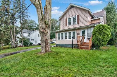 Clarks Summit Single Family Home For Sale: 406 Parker St