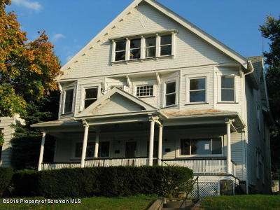 Scranton Multi Family Home For Sale: 934-936 Quincy Ave