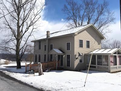 Tunkhannock Single Family Home For Sale: 281 State Rte 1002