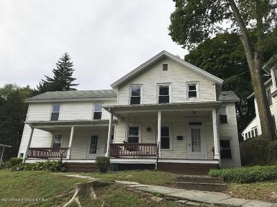 Tunkhannock Single Family Home For Sale: 29 / 31 Putnam St