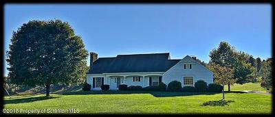 Susquehanna County Single Family Home For Sale: 1345 Phillips Rd