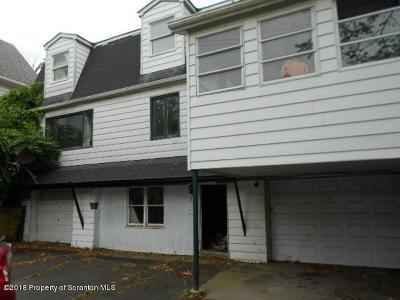 Lackawanna County Single Family Home For Sale: 18 Fallbrook St