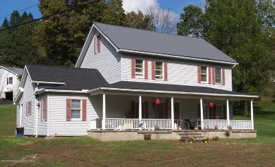 Wyoming County Multi Family Home For Sale: 1168 Sr 6