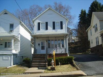 Luzerne County Single Family Home For Sale: 164 Johnson St