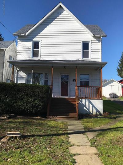 Susquehanna County Single Family Home For Sale: 715 Susquehanna St
