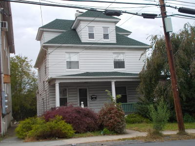Luzerne County Single Family Home For Sale: 1211 Main St
