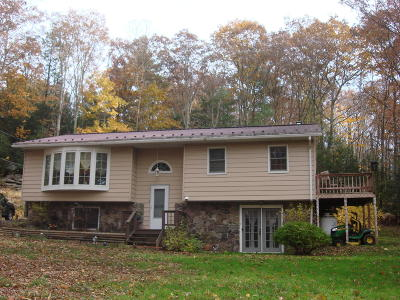 Tunkhannock PA Single Family Home For Sale: $163,000