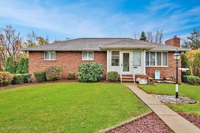 Luzerne County Single Family Home For Sale: 352 Lidy Rd