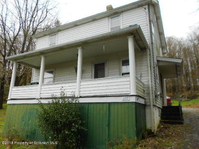Susquehanna County Single Family Home For Auction: 1177 Rear N Main St