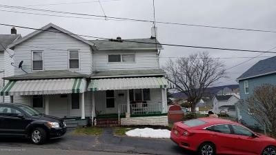Luzerne County Single Family Home For Sale: 1221 South St