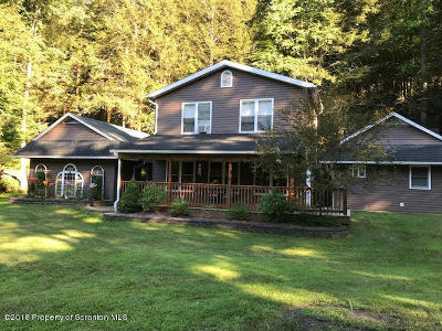 Luzerne County Single Family Home For Sale: 716 Sutton Creek Road