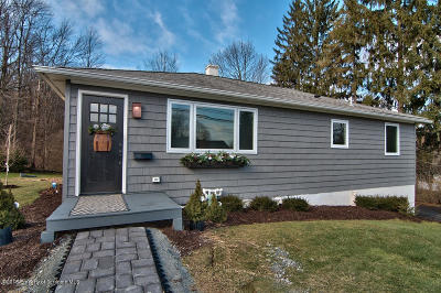 Clarks Summit Single Family Home For Sale: 201 Florence St