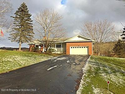 Susquehanna County Single Family Home For Sale: 1668 Pennay Hill Rd