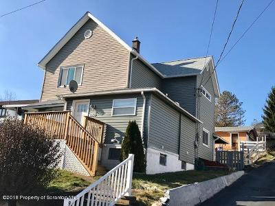 Lackawanna County Single Family Home For Sale: 928 S Valley Ave