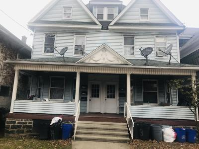 Scranton Multi Family Home For Sale: 417 419 Harrison Ave