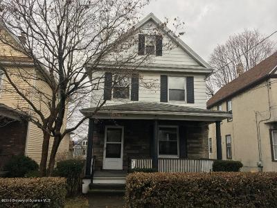 Lackawanna County Single Family Home For Sale: 520 Second St