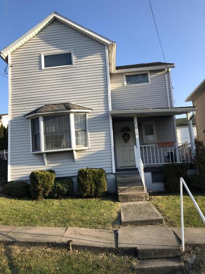 Lackawanna County Single Family Home For Sale: 701 6th St