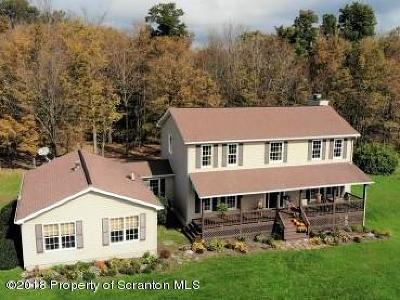 Bradford County Single Family Home For Sale: 1443 Cheese House Rd