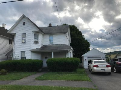 Lackawanna County Single Family Home For Sale: 157 Washington St