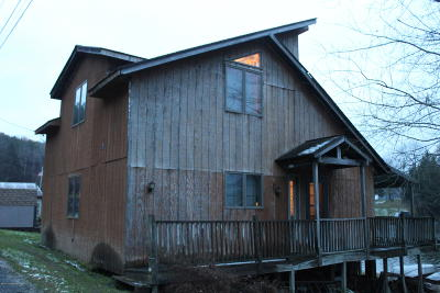 Susquehanna County Single Family Home For Sale: 350 North Lake Road