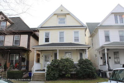 Scranton Single Family Home For Sale: 806 Harrison Ave