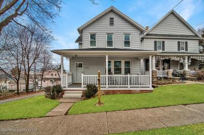 Lackawanna County Single Family Home For Sale: 815 Cherry St