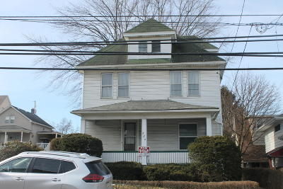 Lackawanna County Multi Family Home For Sale: 726 Moosic St