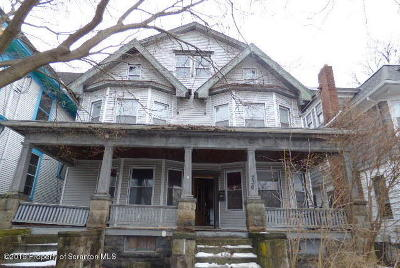 Lackawanna County Single Family Home For Sale: 234 Colfax Ave