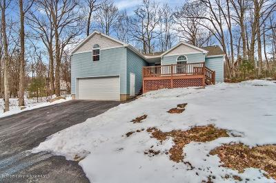 Lackawanna County Single Family Home For Sale: 44 E Fairway Lane