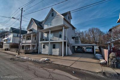 Lackawanna County Single Family Home For Sale: 120 Sand St