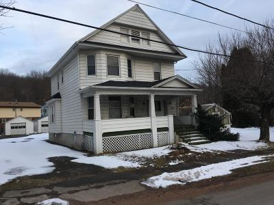 Lackawanna County Single Family Home For Sale: 200 Park St