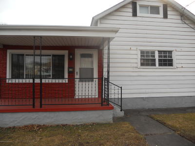 Luzerne County Single Family Home For Sale: 193 Market Street