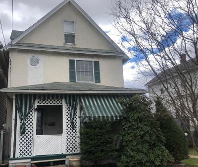 Lackawanna County Single Family Home For Sale: 852 N Bromley Ave