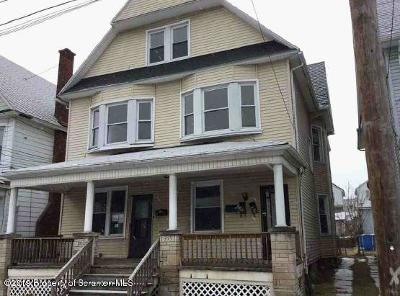 Lackawanna County Multi Family Home For Auction