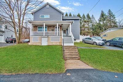 Lackawanna County Single Family Home For Sale: 193 Poplar St