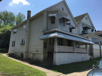 Lackawanna County Multi Family Home For Sale: 1315 S Webster Ave