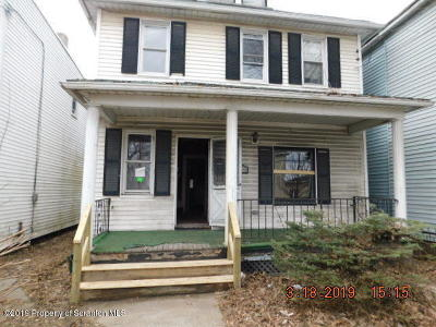 Lackawanna County Single Family Home For Sale: 963 Providence Rd