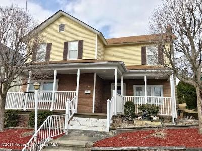 Luzerne County Single Family Home For Sale: 164 Chapel St.