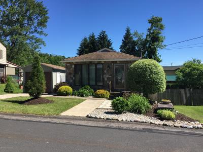 Luzerne County Single Family Home For Sale: 149 Hillside Ave