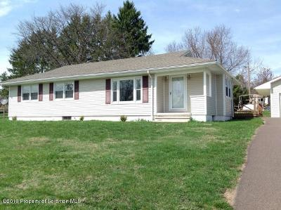 Tunkhannock Single Family Home For Sale: 22 Mile Rd