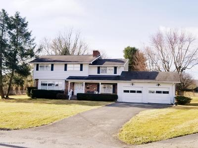 Clarks Summit Single Family Home For Sale: 308 Primrose Dr.