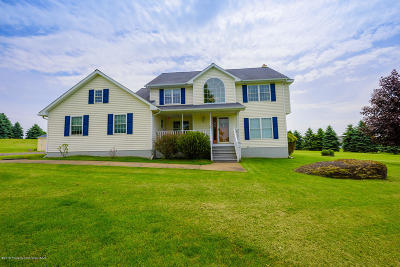 Lackawanna County Single Family Home For Sale: 180 Spedding Farm Rd