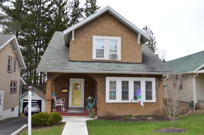 Clarks Summit Single Family Home For Sale: 311 Colburn Ave